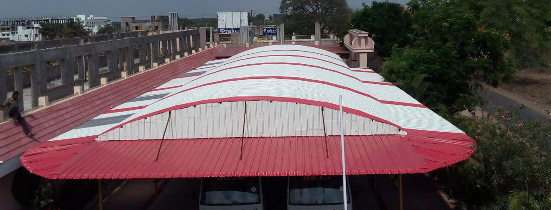 Steel Metal Lexan Tuflite Polycarbonate Roofing Sheets manufacturers Suppliers Dealers traders Chennai